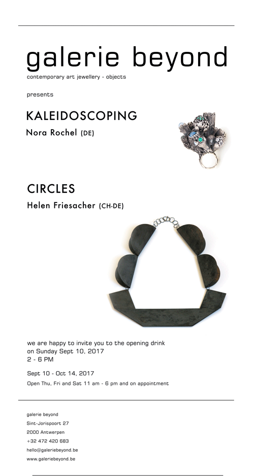 Austellung Circles by Helen Friesacher & Kaleidoscoping by Nora Rochel